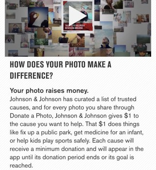 Donate a Photo Ekran Görüntüleri - 1
