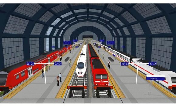 Euro Train Simulator Ekran Görüntüleri - 2