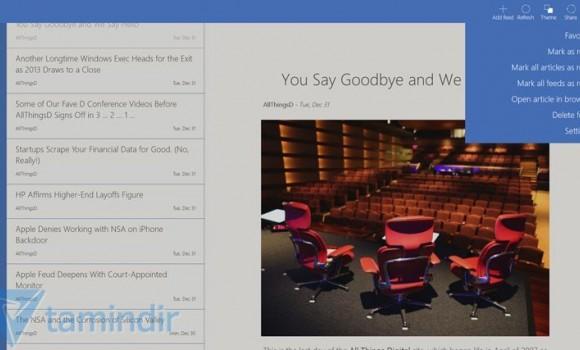 Fedora Reader Ekran Görüntüleri - 5