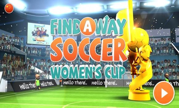 Find a Way Soccer: Women's Cup Ekran Görüntüleri - 6