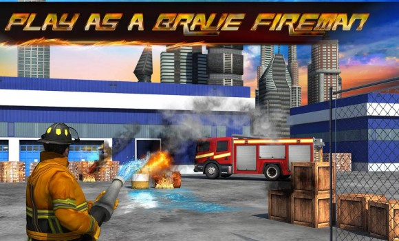 Firefighter 3D: The City Hero Ekran Görüntüleri - 5