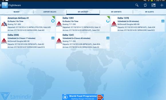 FlightAware Ekran Görüntüleri - 6