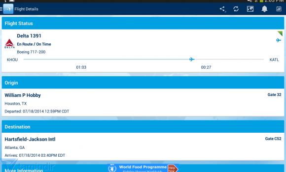 FlightAware Ekran Görüntüleri - 5