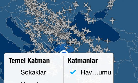 FlightAware Ekran Görüntüleri - 2