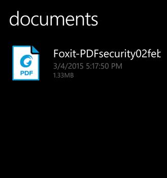 Foxit Mobile PDF Ekran Görüntüleri - 2