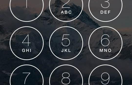 Keypad Lock Screen Ekran Görüntüleri - 1