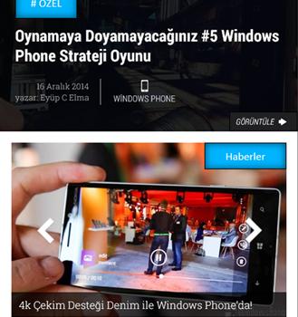 Lumia Gezegeni Ekran Görüntüleri - 6