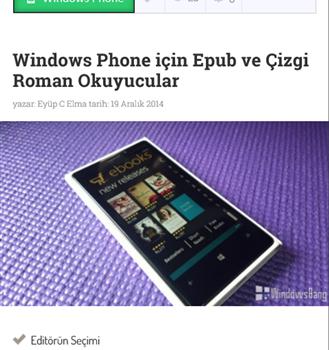 Lumia Gezegeni Ekran Görüntüleri - 1
