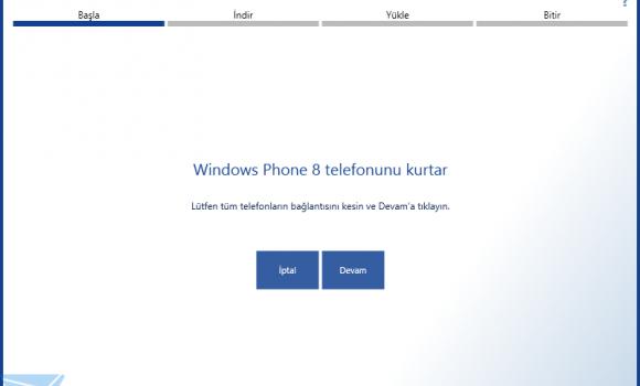Lumia Yazılım Kurtarma Aracı Ekran Görüntüleri - 2