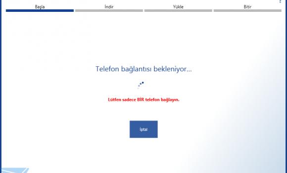 Lumia Yazılım Kurtarma Aracı Ekran Görüntüleri - 1