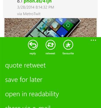 MeTweets Ekran Görüntüleri - 2