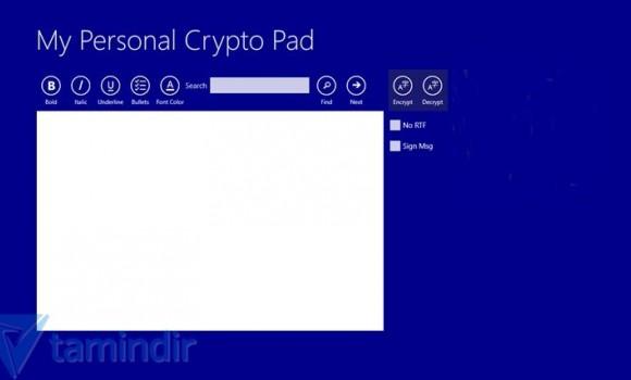 My Personal Crypto Pad Ekran Görüntüleri - 8