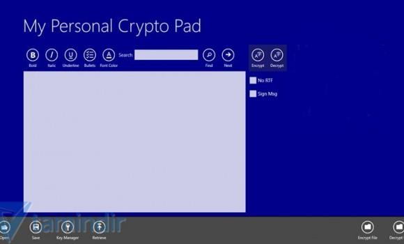 My Personal Crypto Pad Ekran Görüntüleri - 7