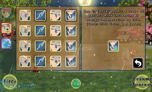 Ninja Girl: RPG Defense Ekran Görüntüleri - 1
