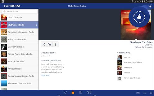 Pandora Radio Ekran Görüntüleri - 2