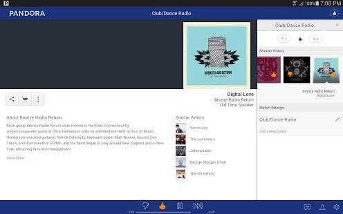 Pandora Radio Ekran Görüntüleri - 1