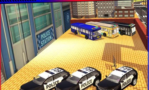 Police Bus Cop Transport Ekran Görüntüleri - 3