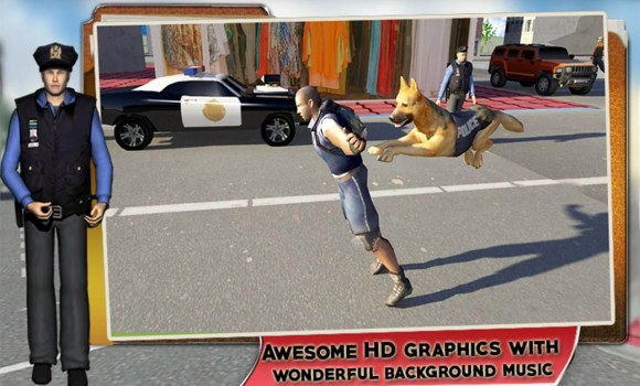 Police Dog Chase: Crime City Ekran Görüntüleri - 1