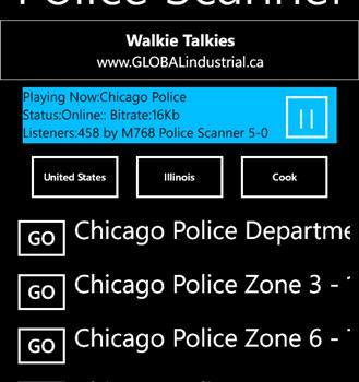 Police Scanner 5-0 Radio Ekran Görüntüleri - 5
