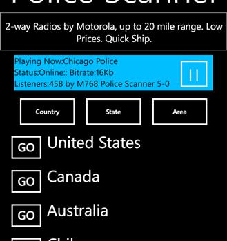 Police Scanner 5-0 Radio Ekran Görüntüleri - 4