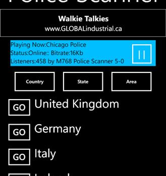 Police Scanner 5-0 Radio Ekran Görüntüleri - 3