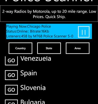 Police Scanner 5-0 Radio Ekran Görüntüleri - 2