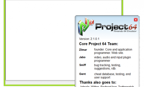 Project64 Ekran Görüntüleri - 5