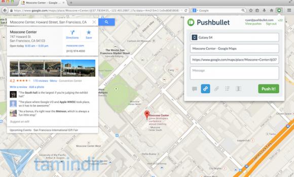 Pushbullet for Firefox Ekran Görüntüleri - 1