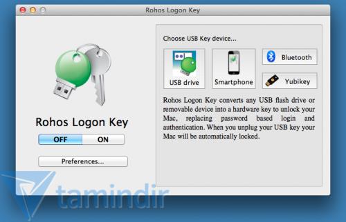 Rohos Logon Key Free Ekran Görüntüleri - 3