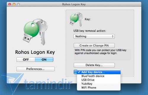 Rohos Logon Key Free Ekran Görüntüleri - 2