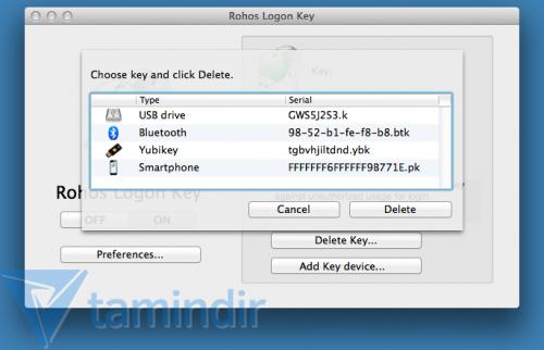 Rohos Logon Key Free Ekran Görüntüleri - 1