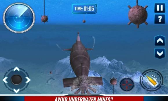 Russian Submarine Navy War 3D Ekran Görüntüleri - 2