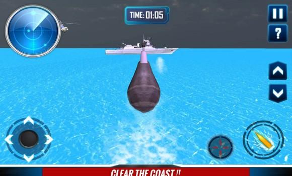 Russian Submarine Navy War 3D Ekran Görüntüleri - 1