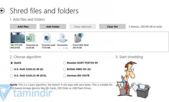 Shredder8 Ekran Görüntüleri - 2