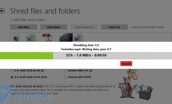 Shredder8 Ekran Görüntüleri - 1