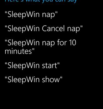 SleepWin Ekran Görüntüleri - 1