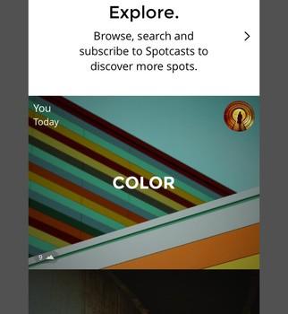 Spot Ekran Görüntüleri - 1