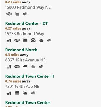 Starbucks Locator Ekran Görüntüleri - 8