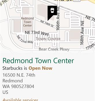 Starbucks Locator Ekran Görüntüleri - 4