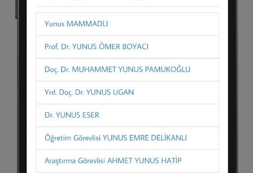 Süleyman Demirel Üniversitesi Ekran Görüntüleri - 1