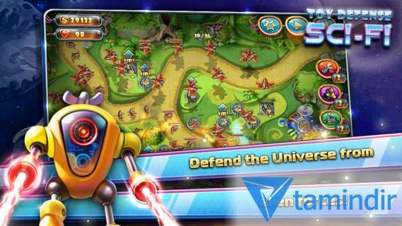 Toy Defense 4: Sci-Fi Free Ekran Görüntüleri - 5