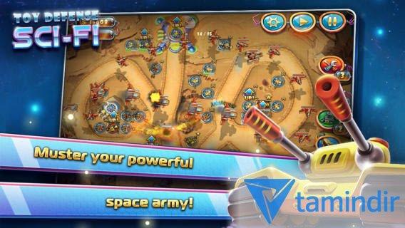 Toy Defense 4: Sci-Fi Free Ekran Görüntüleri - 4