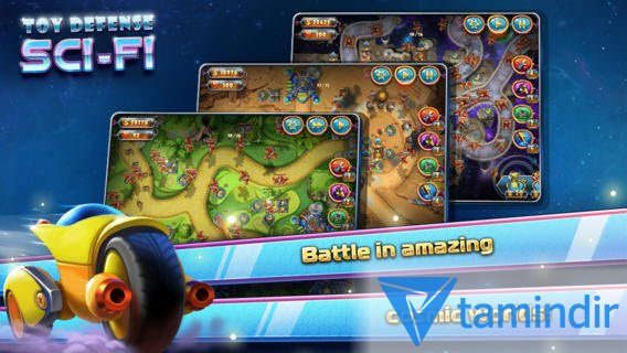 Toy Defense 4: Sci-Fi Free Ekran Görüntüleri - 2