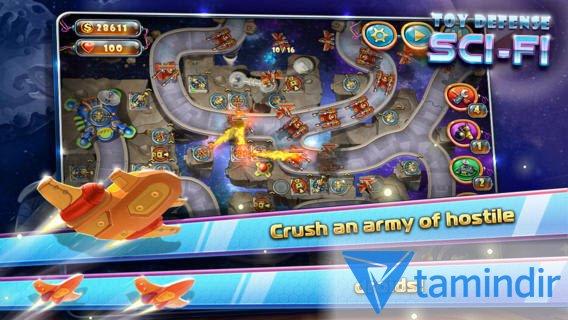 Toy Defense 4: Sci-Fi Free Ekran Görüntüleri - 1