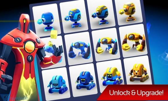 The Bot Squad: Puzzle Battles Ekran Görüntüleri - 2