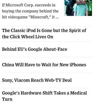 The Wall Street Journal Ekran Görüntüleri - 2