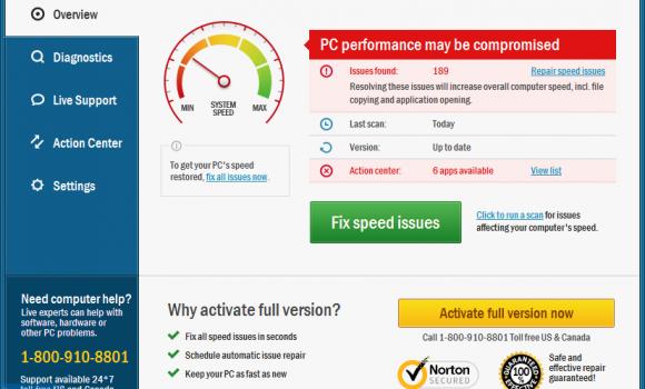 TweakBit PCSpeedUp Ekran Görüntüleri - 5