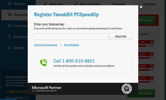 TweakBit PCSpeedUp Ekran Görüntüleri - 1