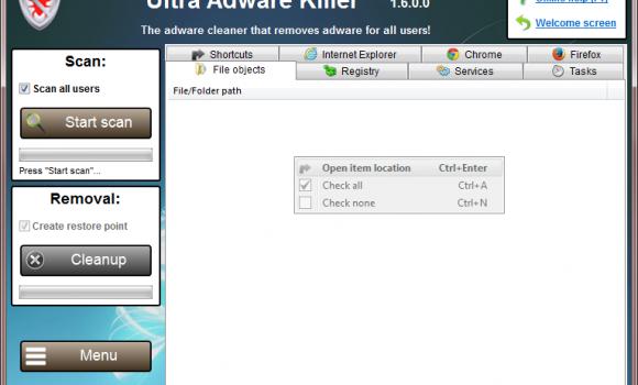UVK - Ultra Virus Killer Ekran Görüntüleri - 5