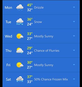 WeatherBug Ekran Görüntüleri - 7
